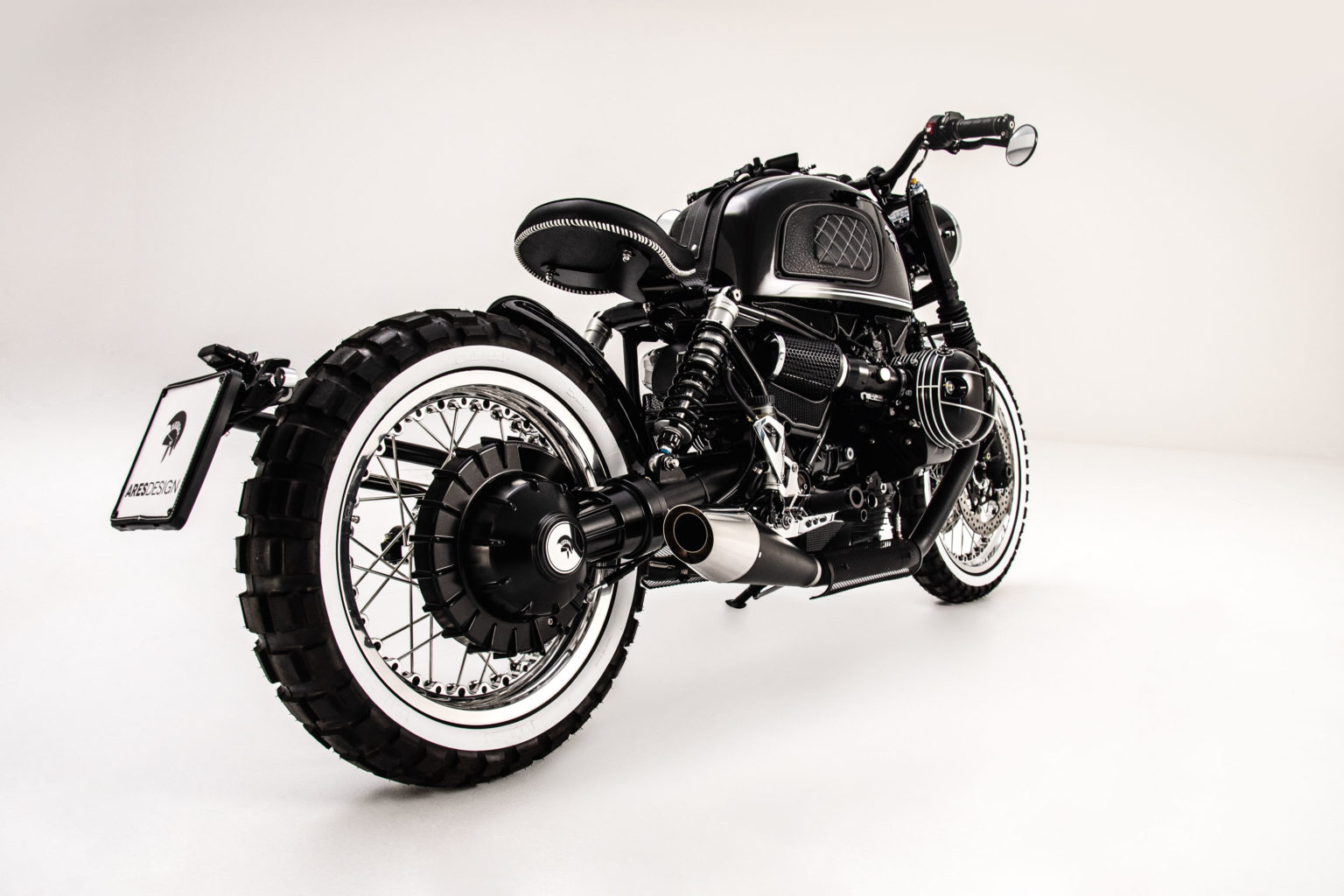 BMW R NineT Retro Scrambler by Ares Design