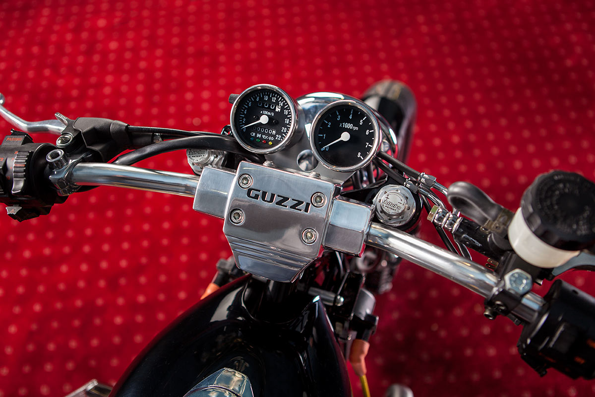 "Moto Guzzi ""Champion"" by Mr Martini"