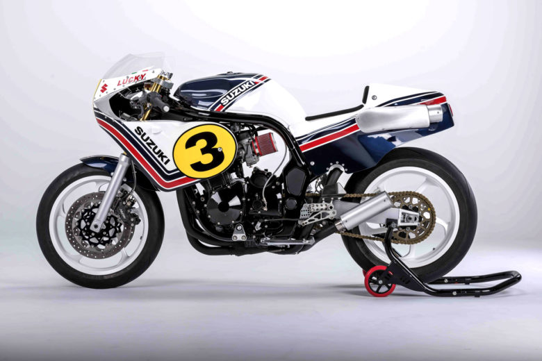 "Suzuki Bandit ""Lucky Legend"" by Italian Dream Motorcycle"