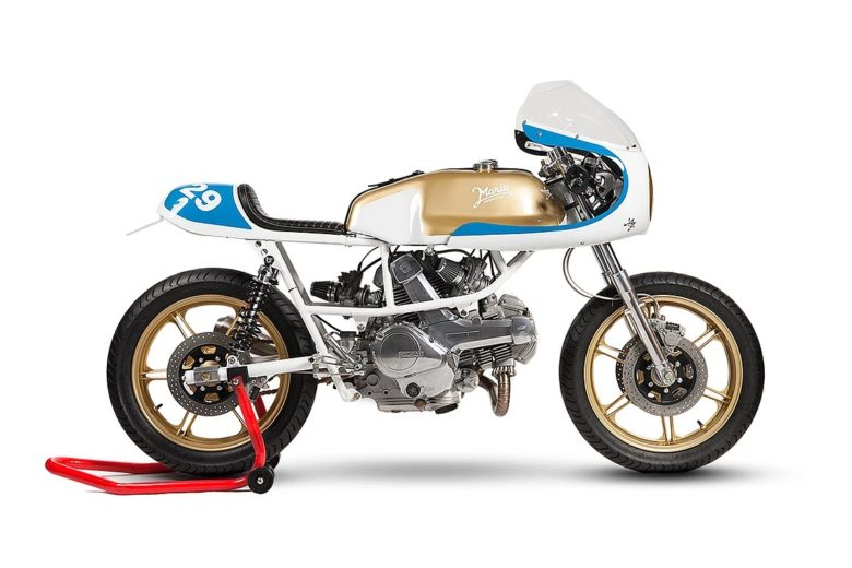 "Ducati Pantah ""Road Runner"" by Maria Riding Company"
