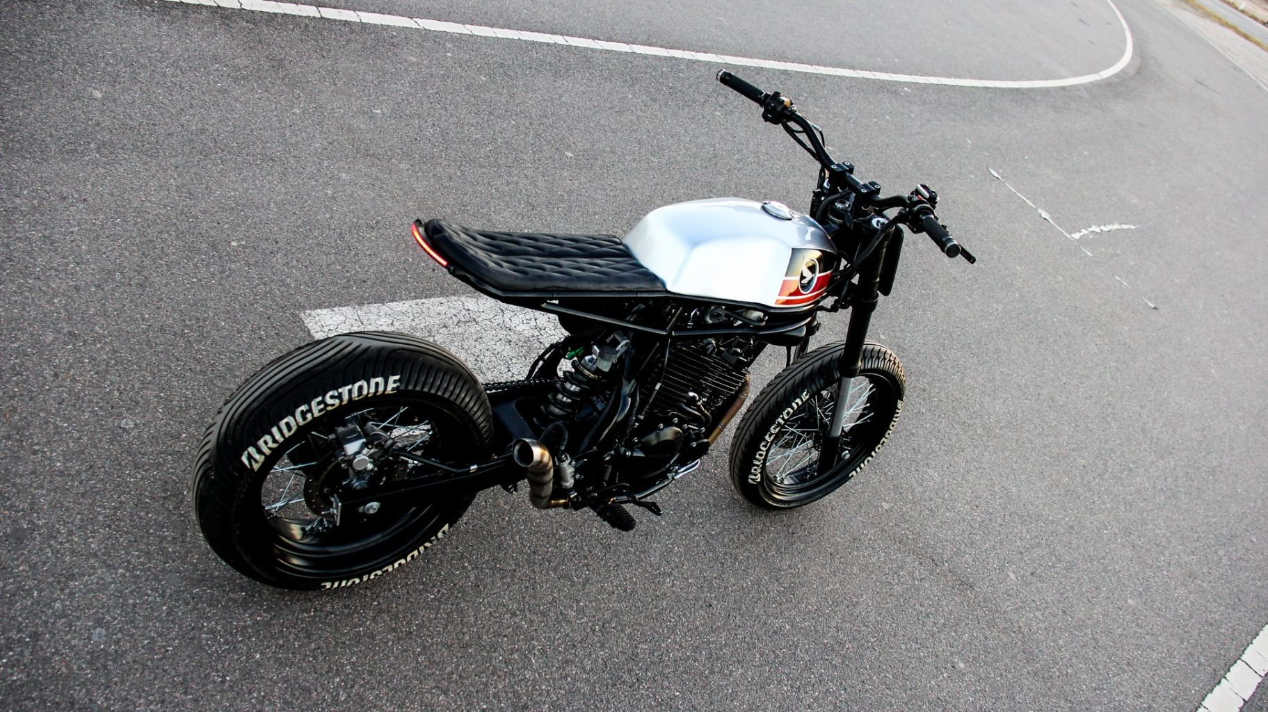 """Honda NX400 """"Super Cobra"""" by Lucky Custom"""