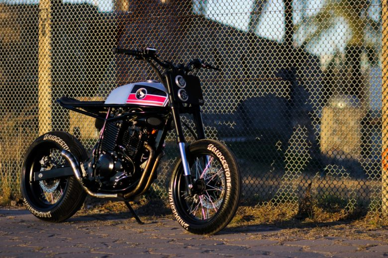 "Honda NX400 ""Super Cobra"" by Lucky Custom"