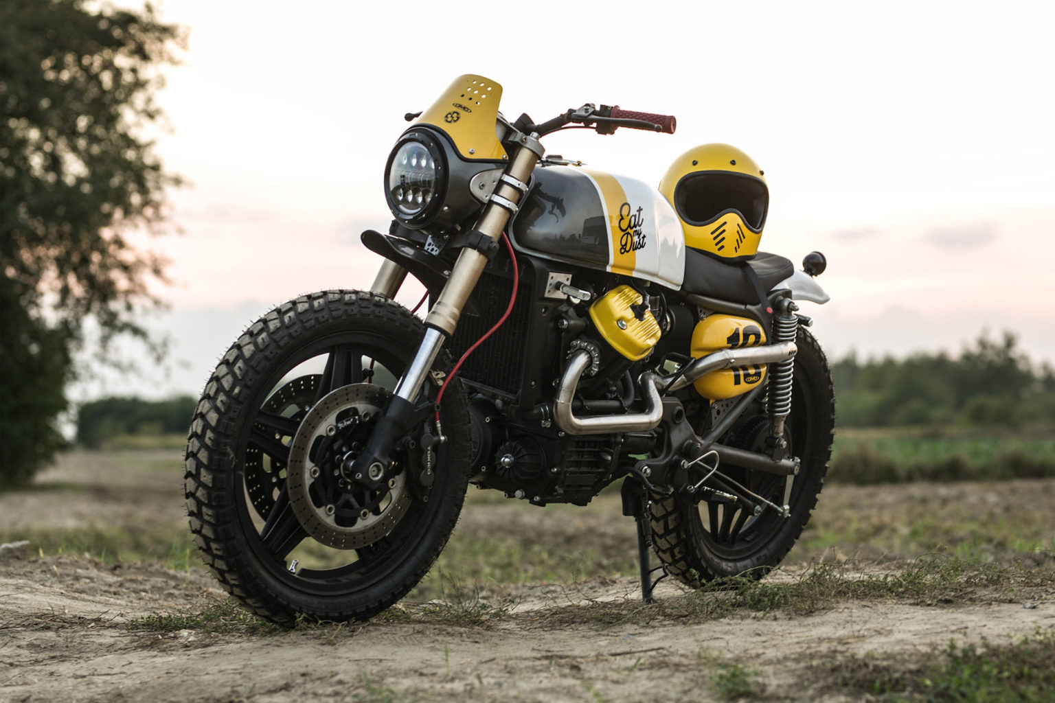 "Honda CX500 ""Eat my dust"" by Cardsharper Customs"