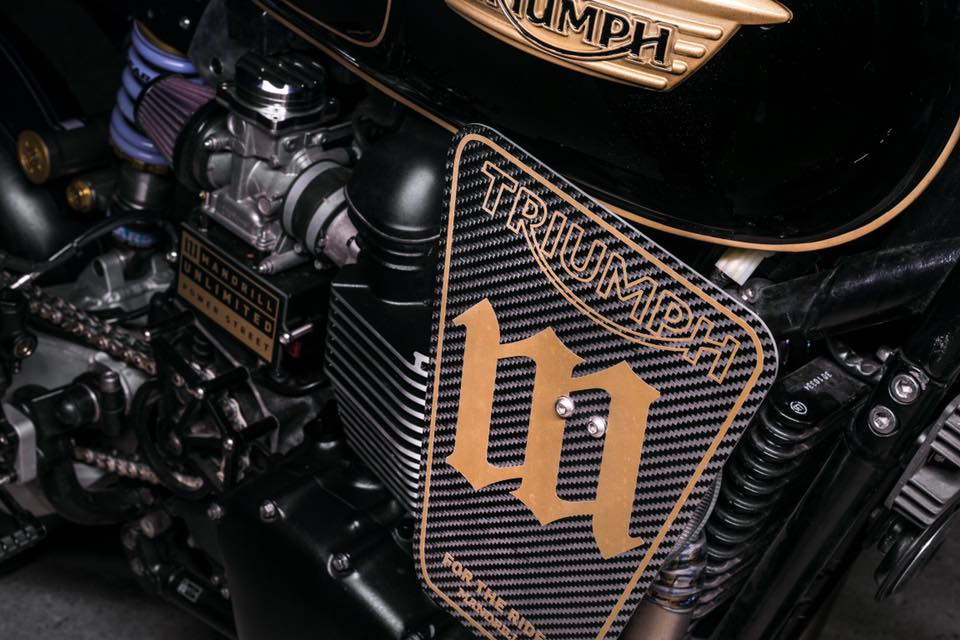 Triumph T100 Racer by Mandrill Garage