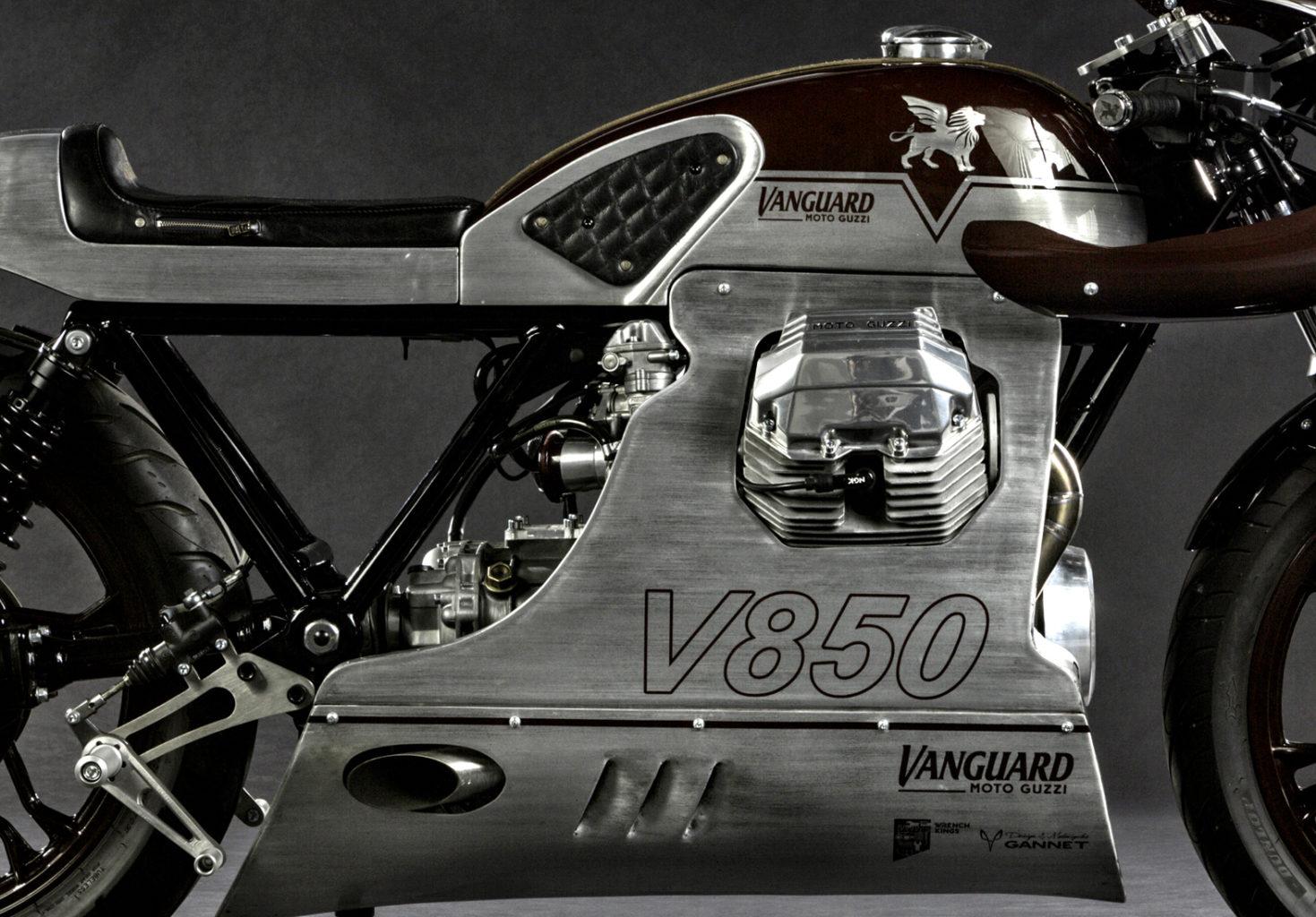 "Moto Guzzi Le Mans ""Master of Endurance"" by Gannet Design"