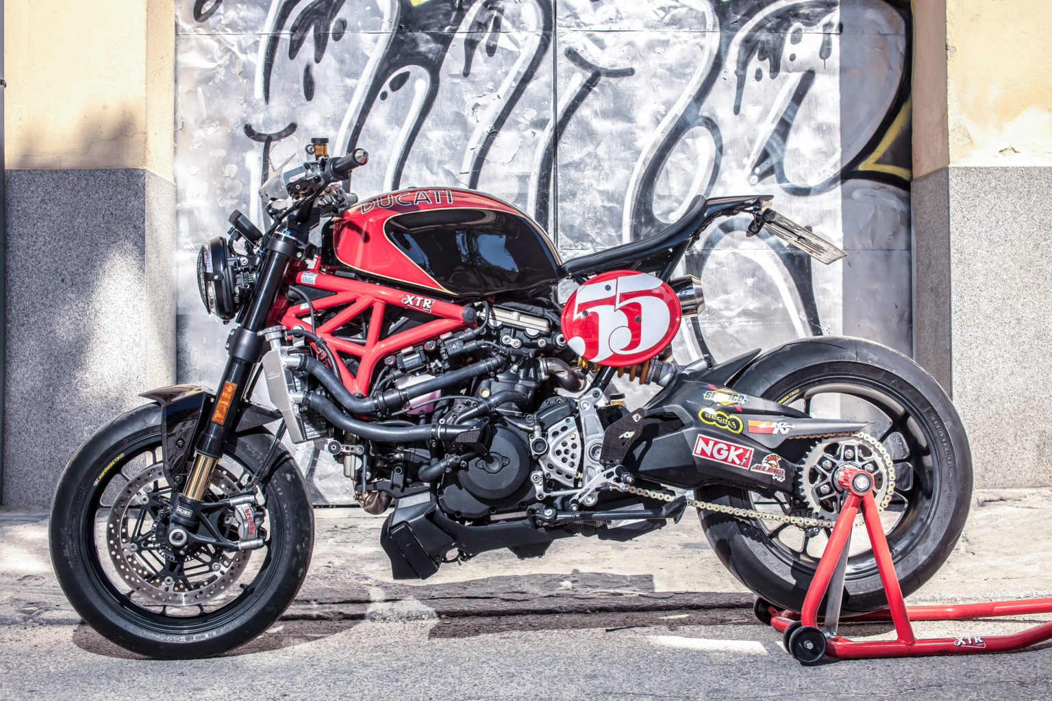 "Ducati Monster 1200R ""Il Padrino"" by XTR Pepo"