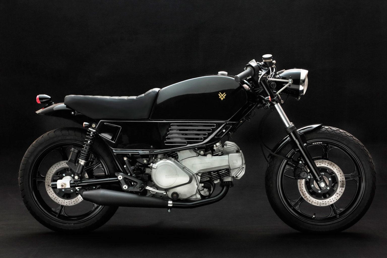 """Ducati Pantah """"Sputafuoco"""" by Venier Motorcycles"""