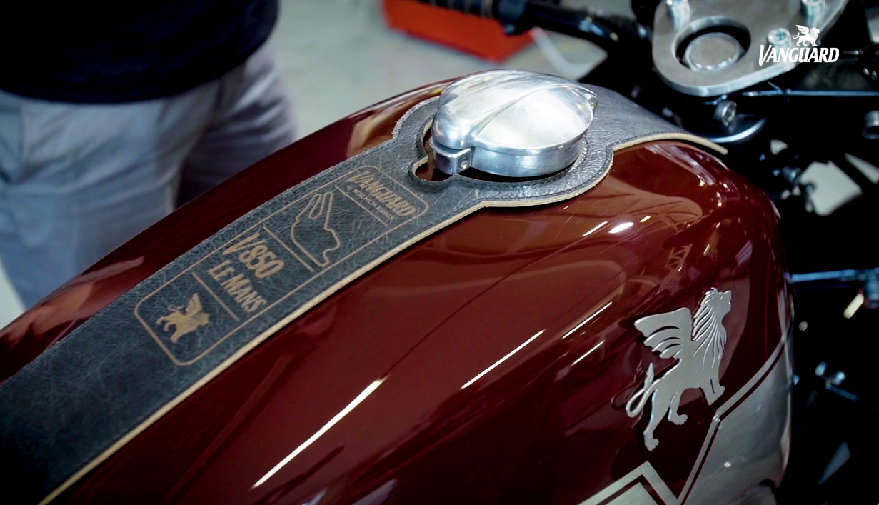 "Moto Guzzi Le Mans ""Master of Endurance"" by Gannet Design"