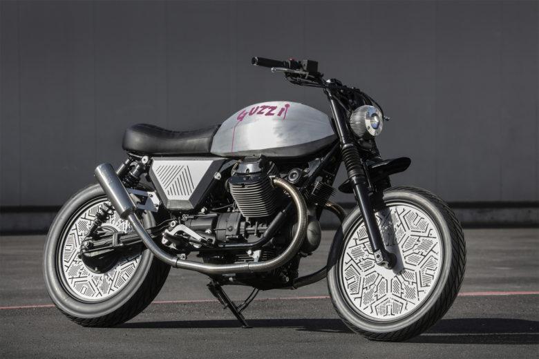 """Moto Guzzi V7 """"Tomoto"""" by Venier Motorcycles"""