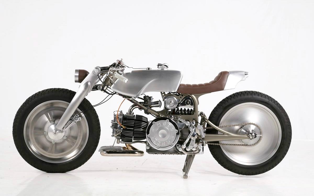 "Moto Guzzi Nuovo Falcone ""Rondine"" by Medaza Cycles"
