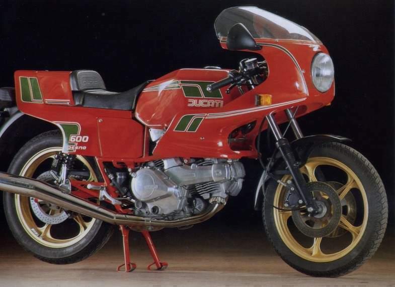 Ducati Pantah 600TL 1984-85