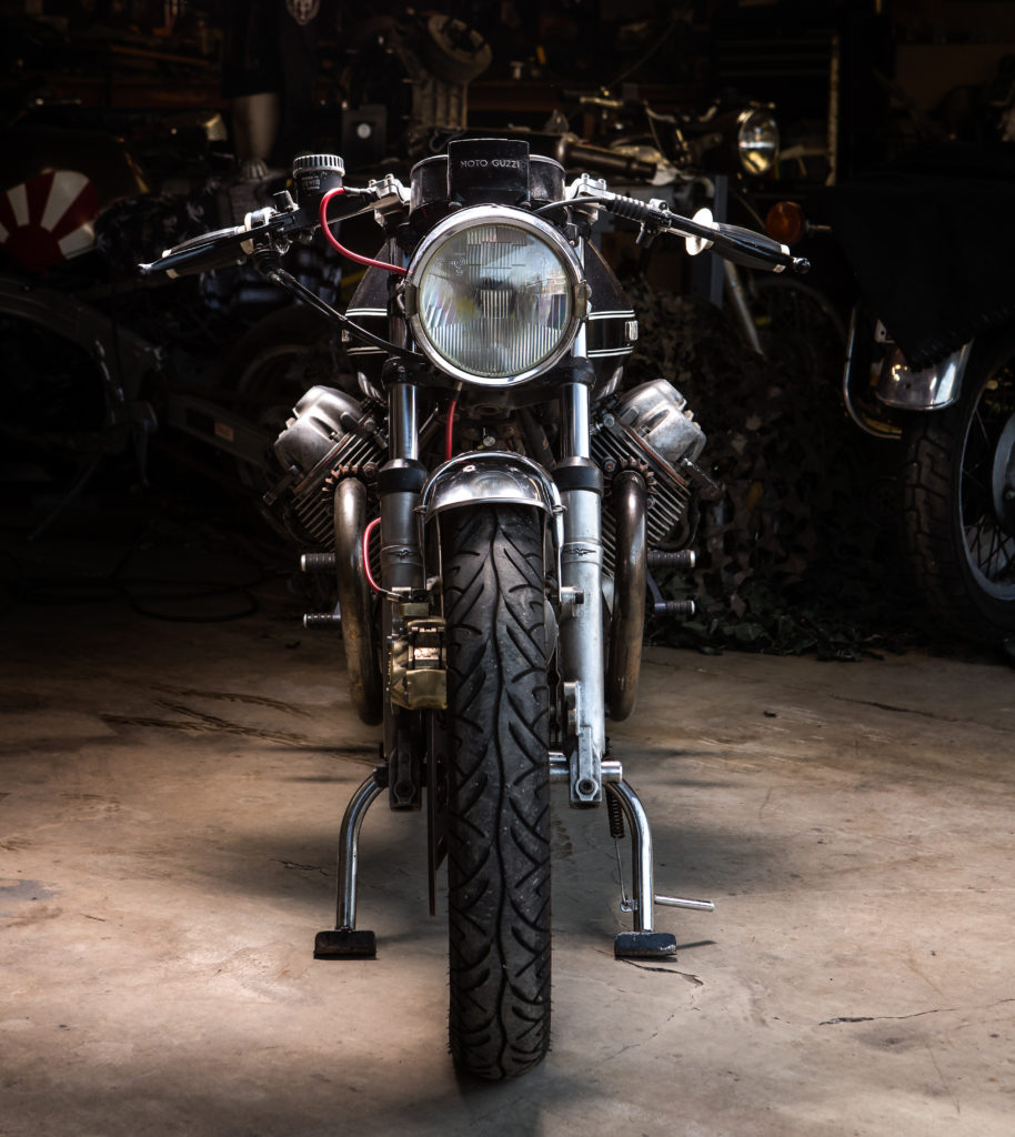 Moto Guzzi 850T Cafe Racer by Jeff Parrish