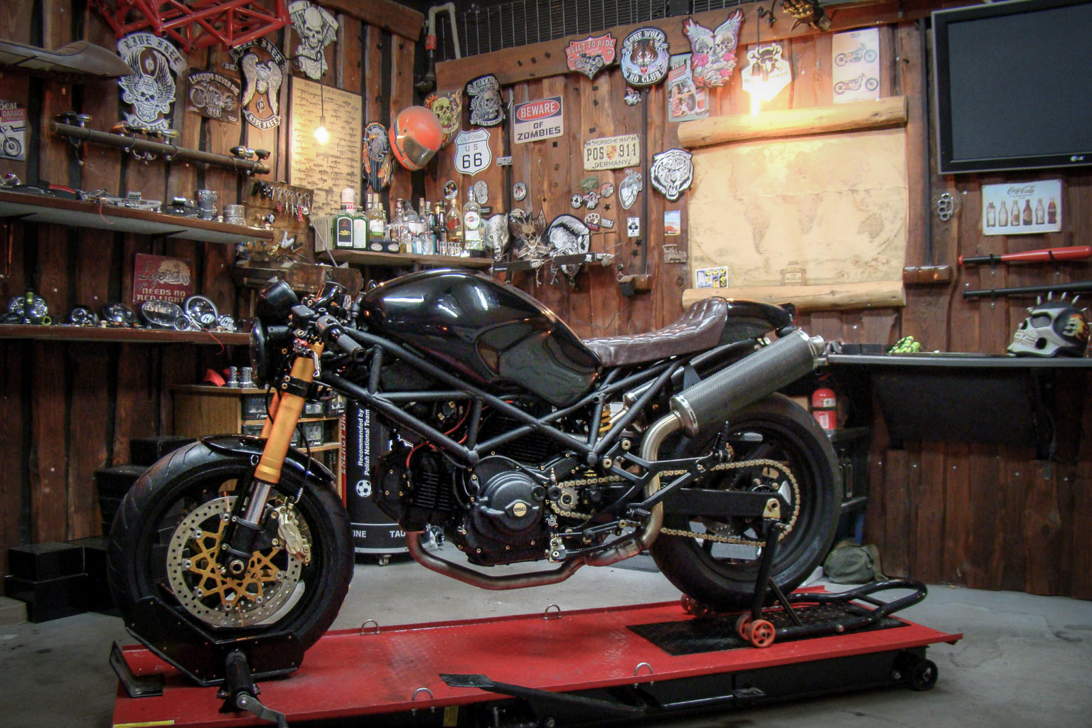 "Ducati Monster ""Tarantula"" by Black Sheep Garage"