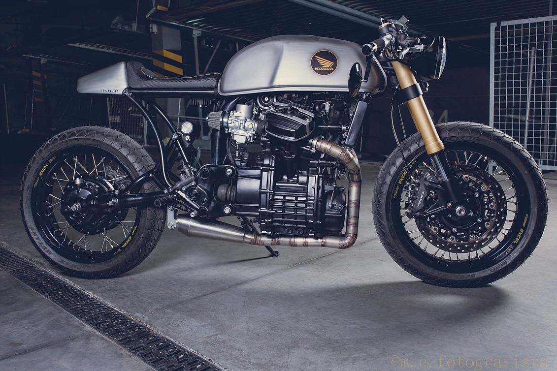 "Honda CX500 ""Fearless"" by Wena Customs"