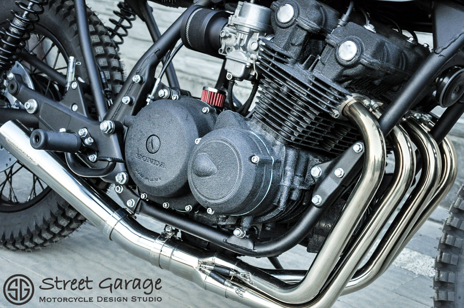 "Honda CB750F ""James"" by Street Garage"