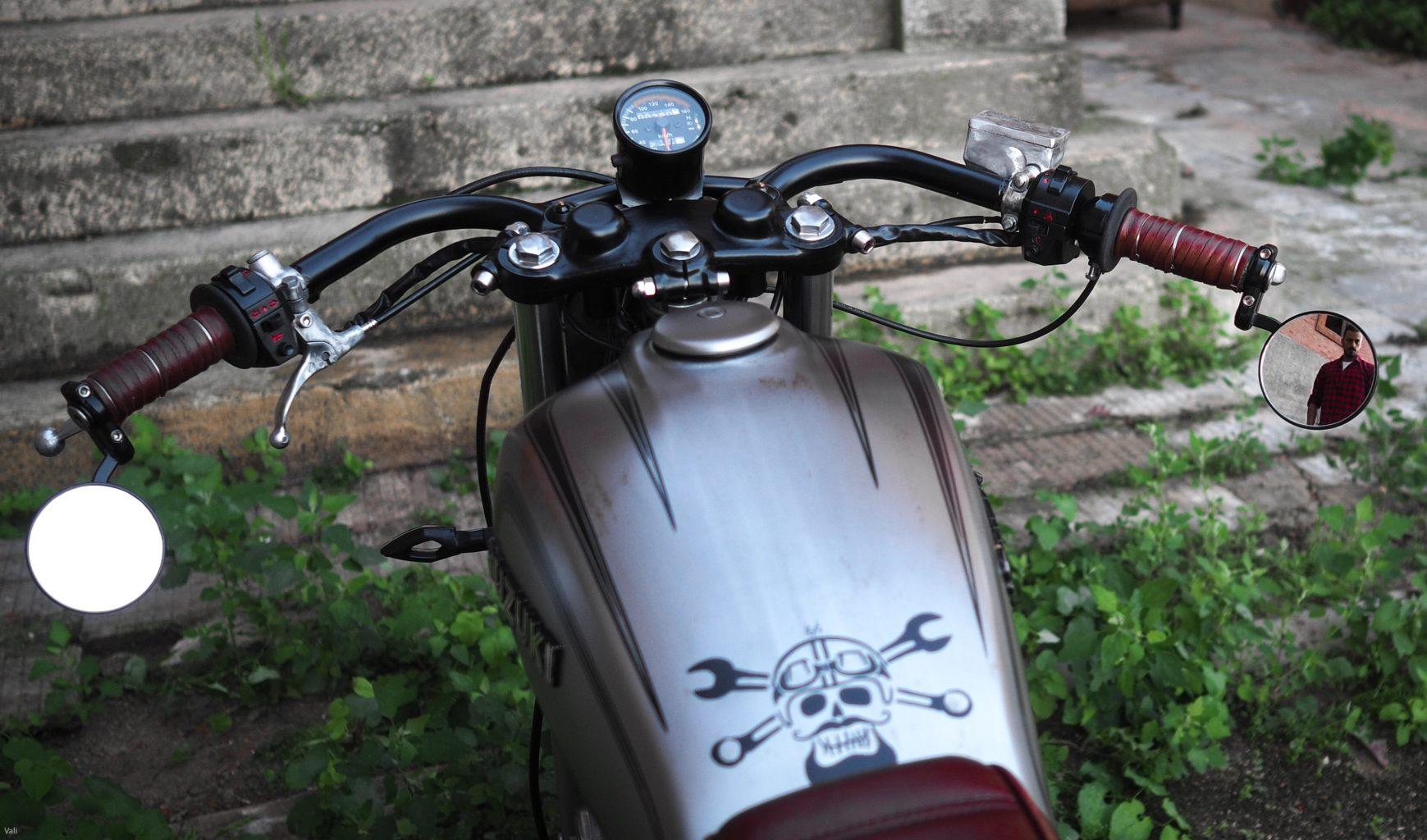Suzuki GN400 by Swan Puzone