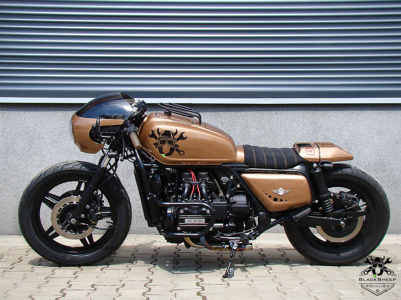 "GL1000 ""Gold Torpedo"" by Black Sheep Garage"