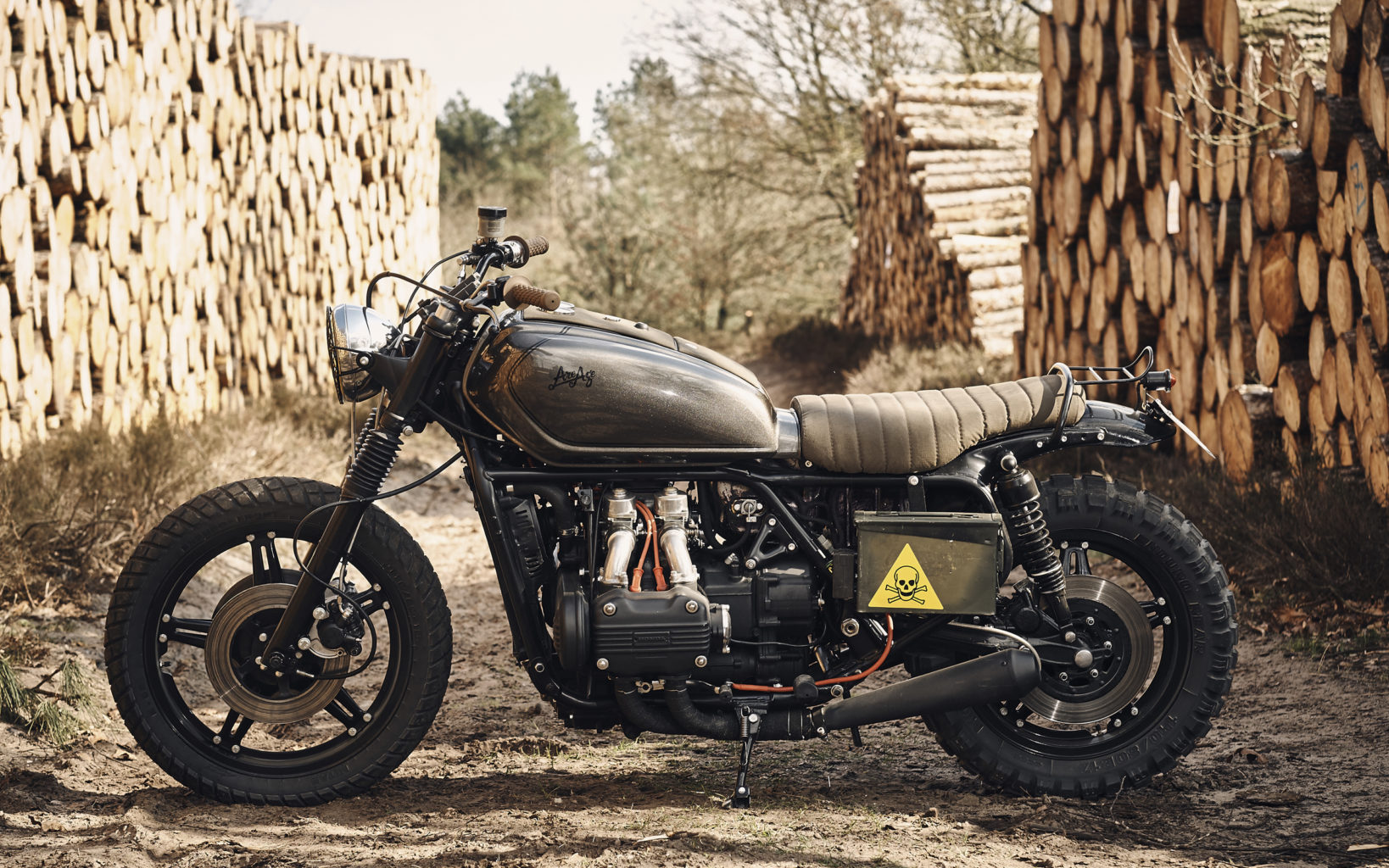 "GL1000 ""The Gravel Express"" by RH Motorcycles"