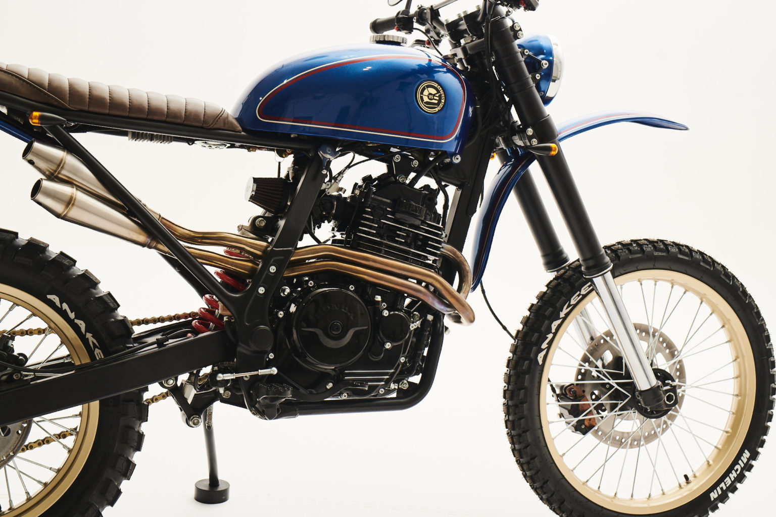 Honda NX650 Dominator by Eastern Spirit Garage