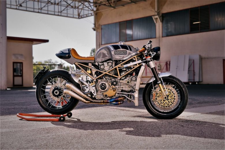 "Ducati Monster S4R ""Infinita"" by Metalbike Garage"