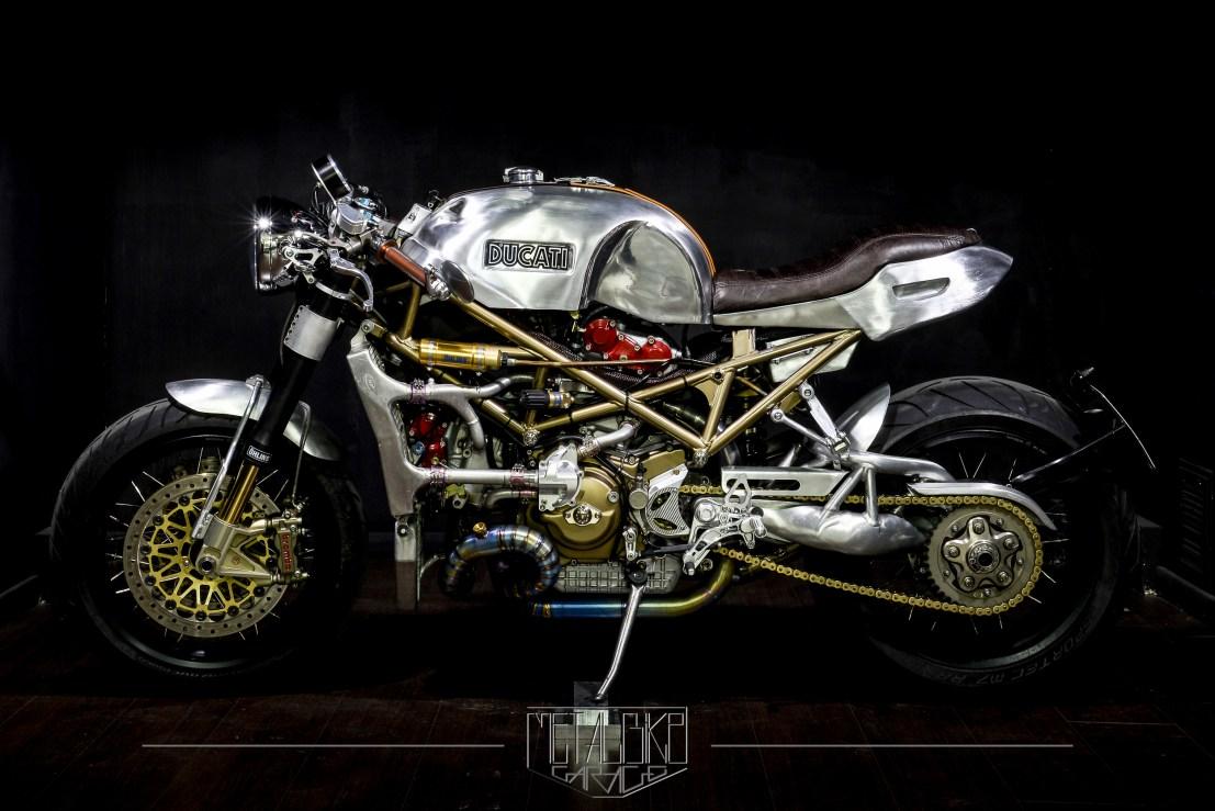 "Ducati Monster S4R ""Infinita"" by Metalbike Garage"