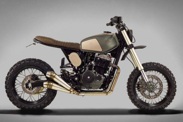 "Honda FMX650 ""Muxima"" by Ton-Up Garage"