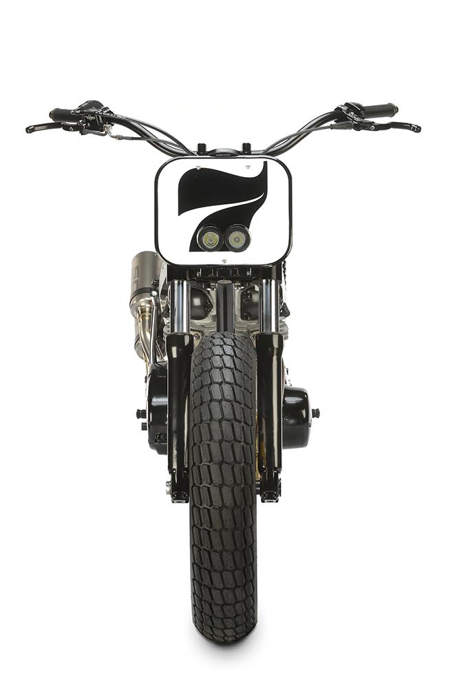 "Yamaha XS650 ""Flat Track"" by Felix Motocyclette"