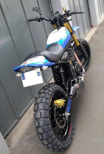"""Suzuki DR800 """"Big One"""" by YC Design"""