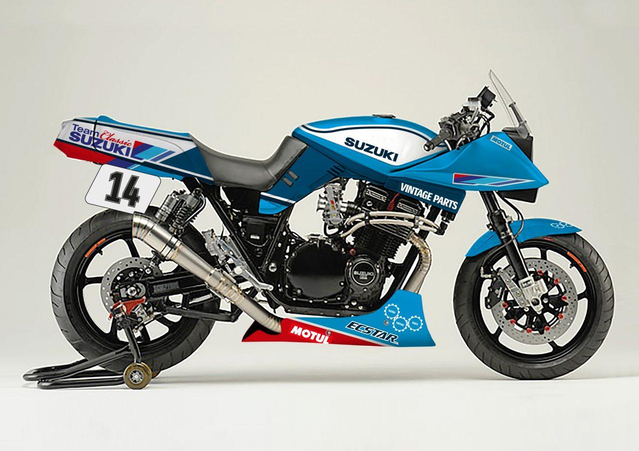 Suzuki Katana 1100 by Team Classic Suzuki