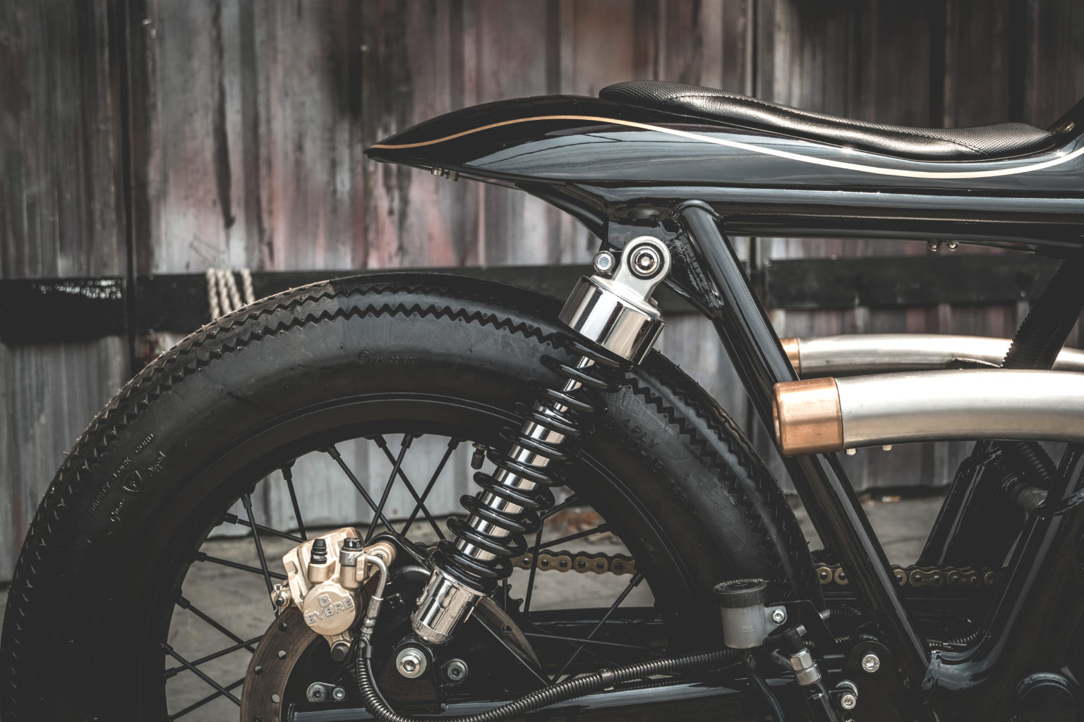 "Royal Enfield ""The Prime"" by Zeus Custom"