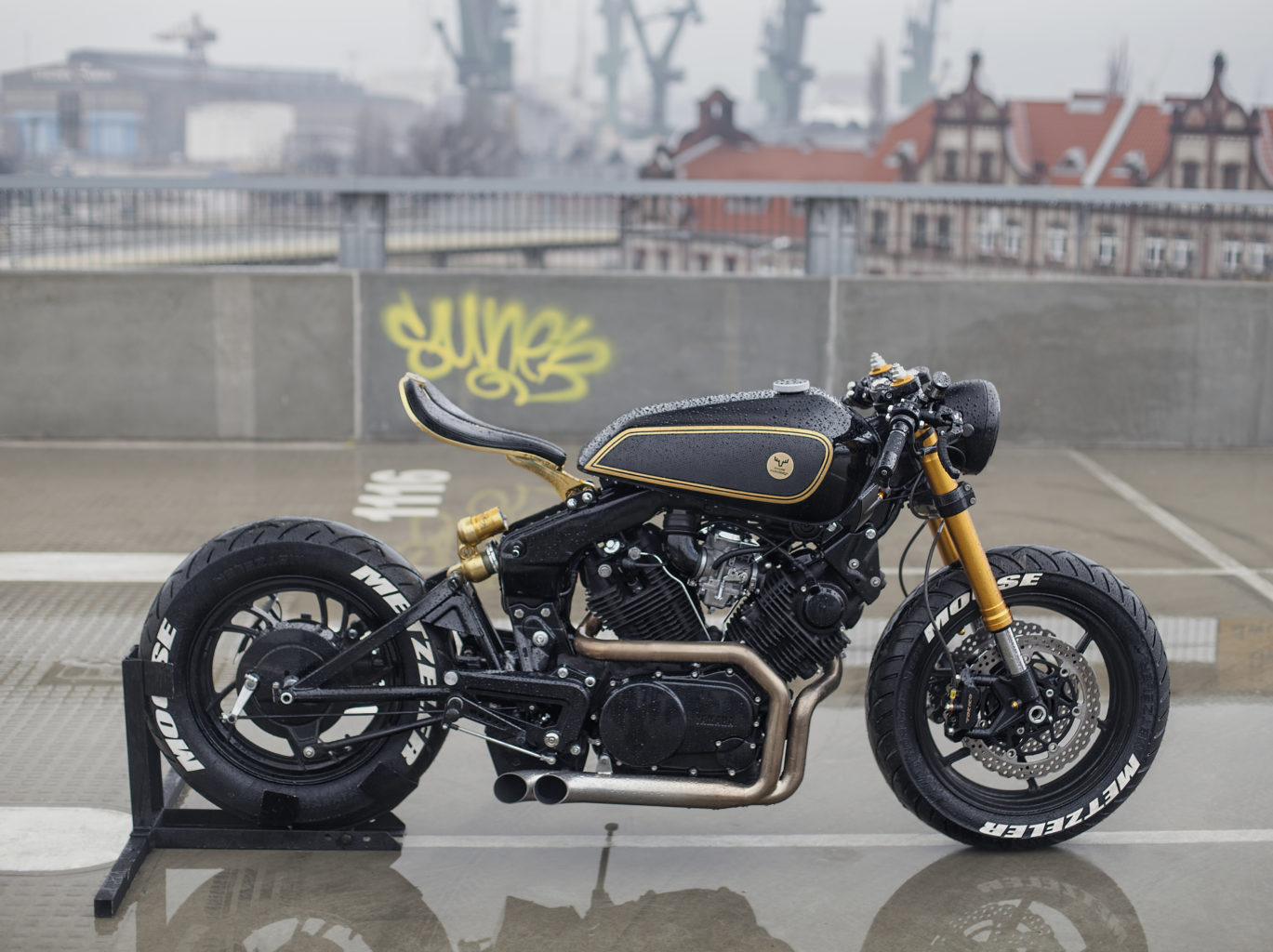 "Yamaha XV920 Virago ""Twins"" by Moose Motodesign"