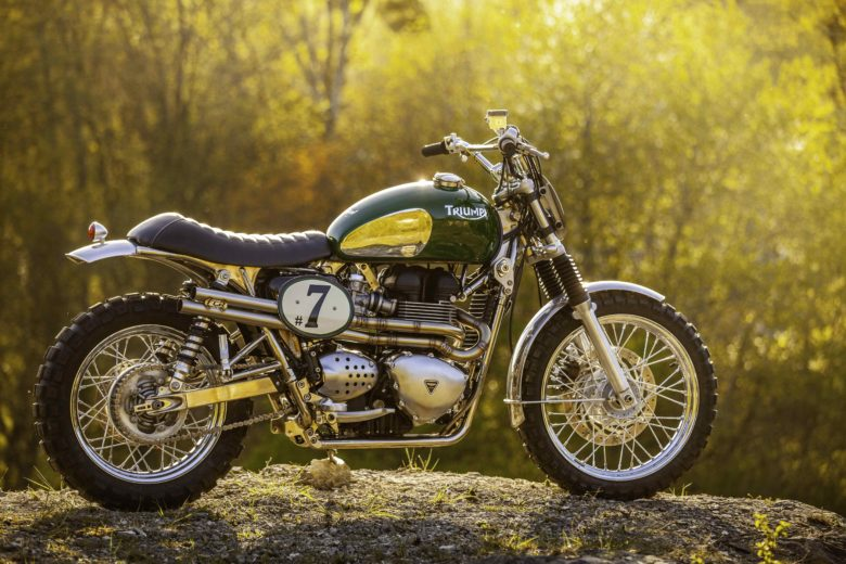 "Triumph Bonneville ""Green Legend"" by FCR Original"