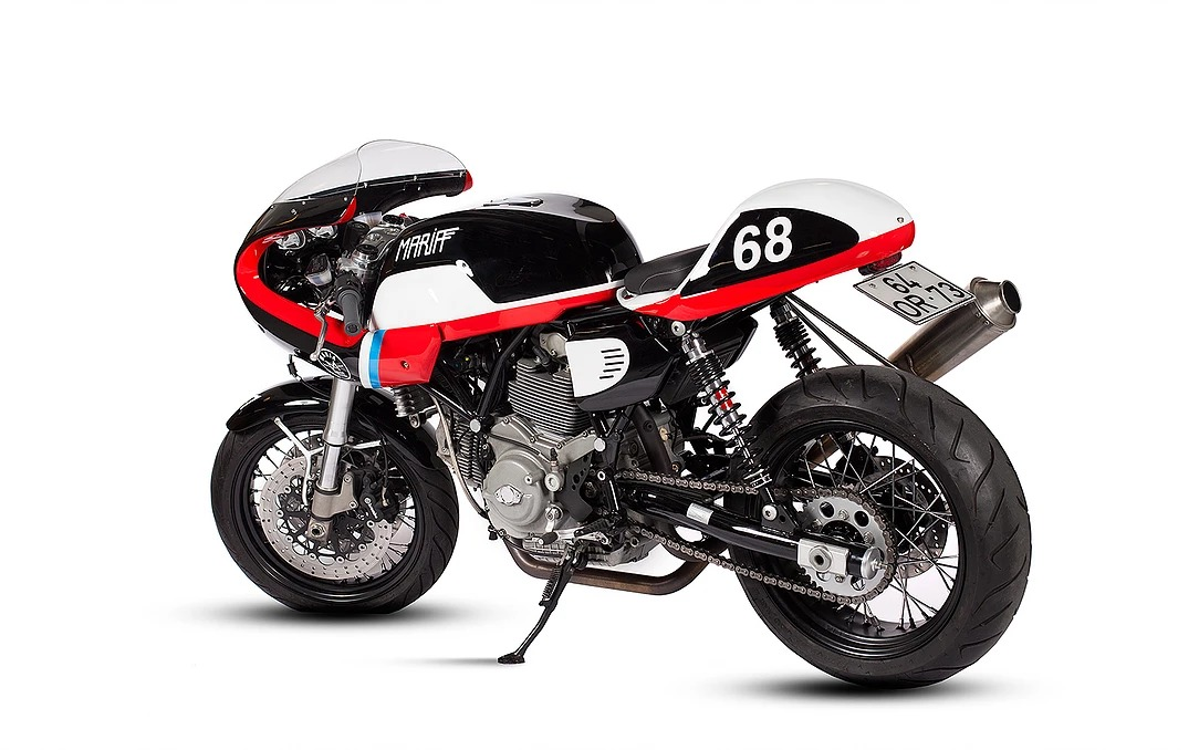 "Ducati GT1000 ""Bloody Fang"" by Maria Riding Company"