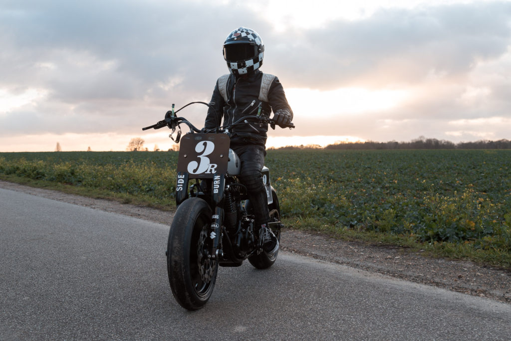Suzuki DR650 Flat Track by Le French Atelier