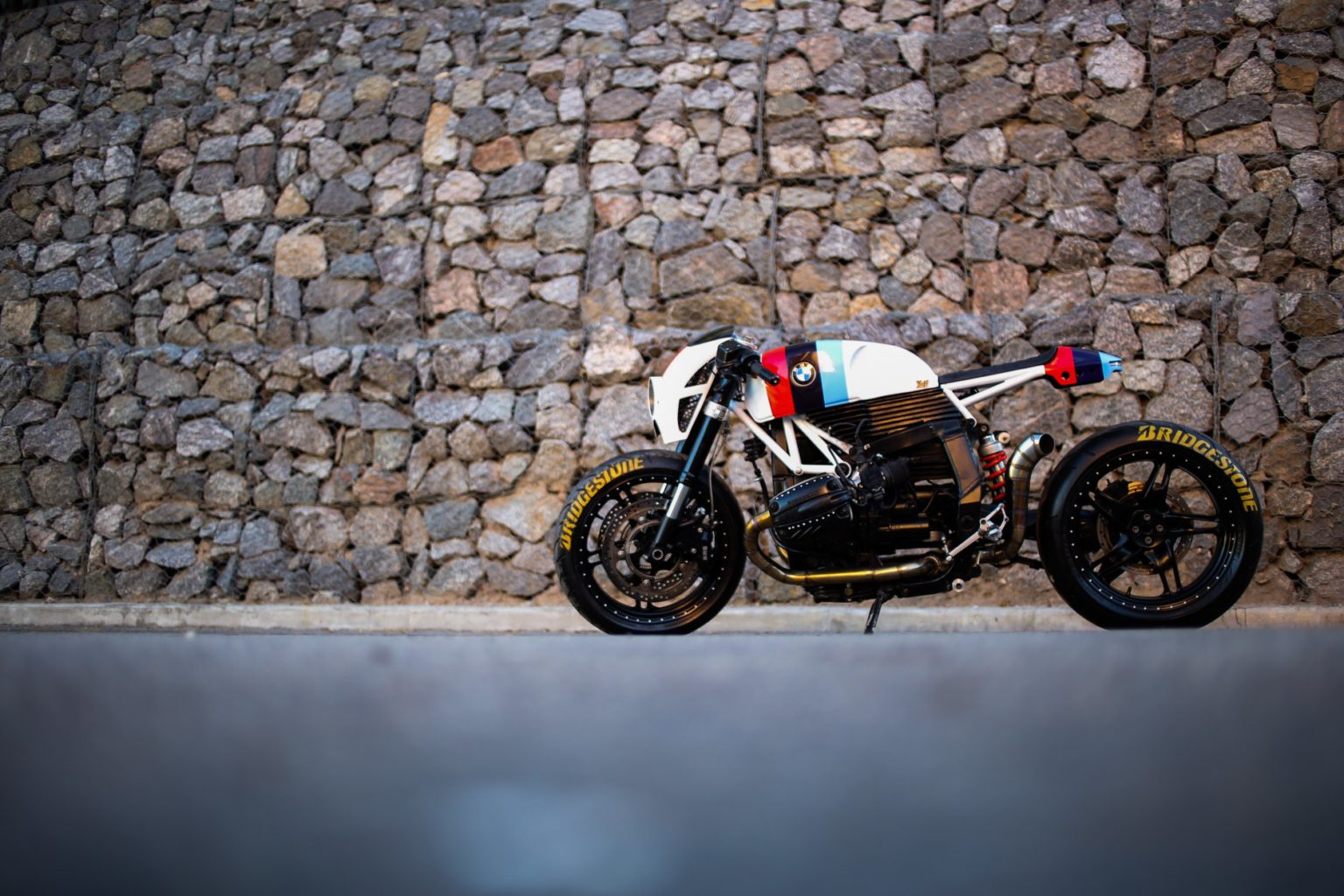 "BMW R1100S #77 ""Bull"" by Lucky Custom"