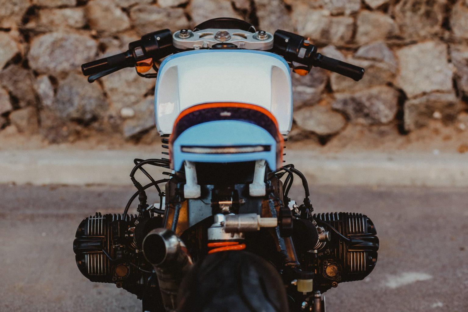 """BMW R1100S #77 """"Bull"""" by Lucky Custom"""