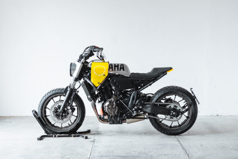 "Yamaha XSR700 ""Grasshopper"" by Hookie Co."