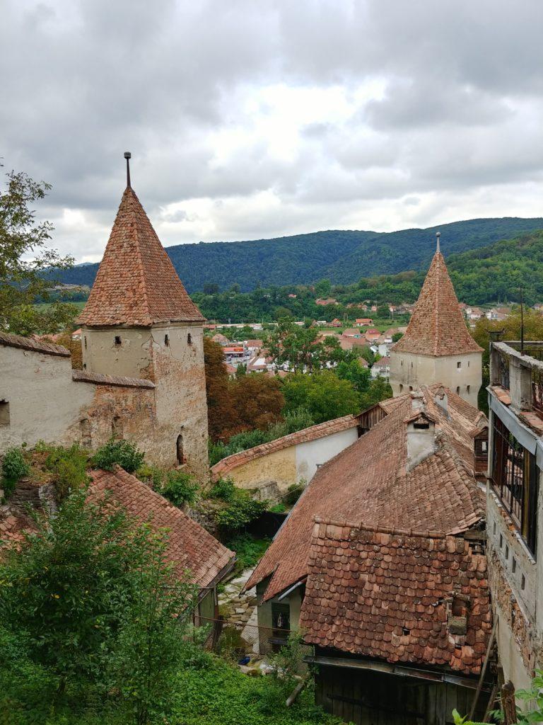 Motorcycle trip - Romania Sighisoara