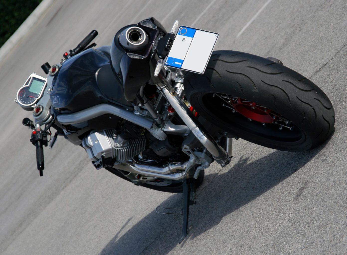 """Moto Guzzi Griso """"Zero"""" by Officine Rossopuro"""
