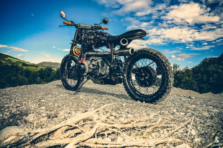 "BMW R80ST ""Black Bavarian Lady"" by Reier Motors"