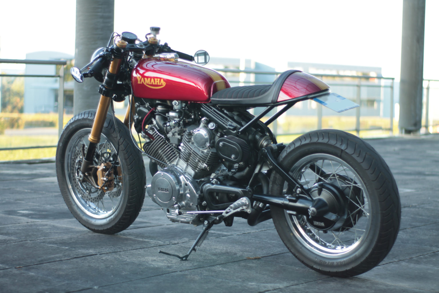 Yamaha Virago 750 by Jean-Pierre from Poitiers