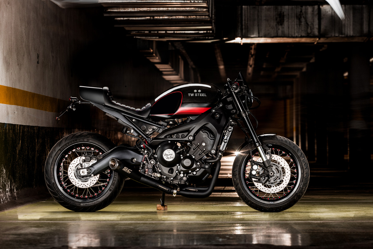 "XSR900 ""Desperado"" by Macco Motors"