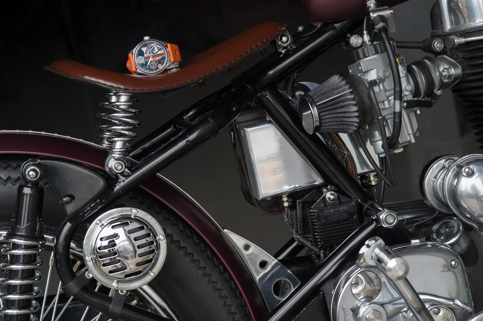Royal Enfield Bullet by Watchmaker Motorcycle