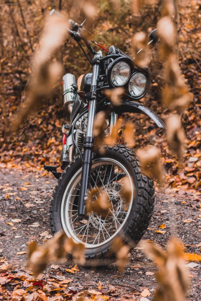 Honda NX650 Dominator by LLMotorcycles