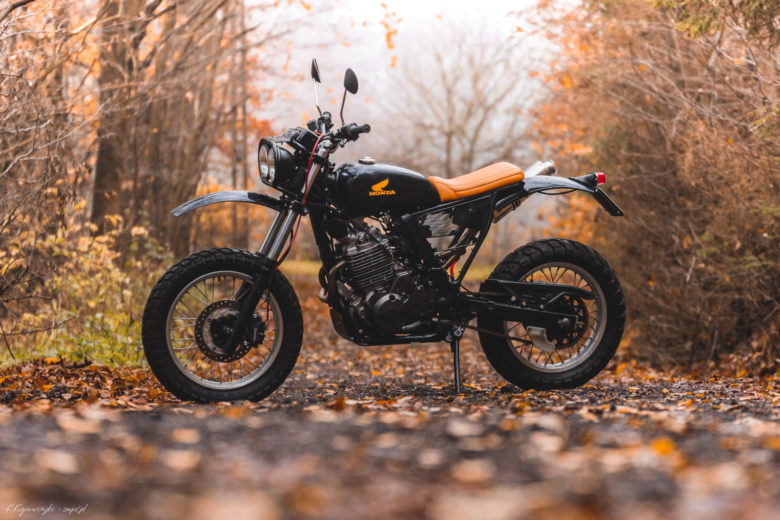 Honda NX650 Dominator by LLMotorcycles