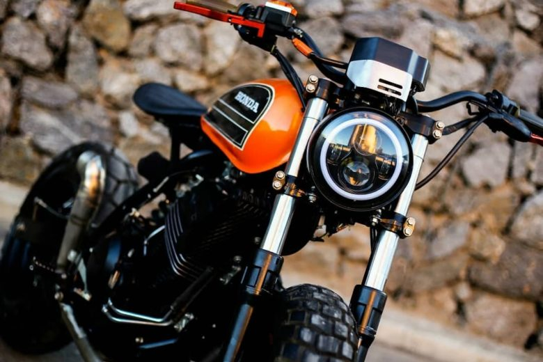 "Honda XR250 ""Aggressor 1"" by Lucky Custom"