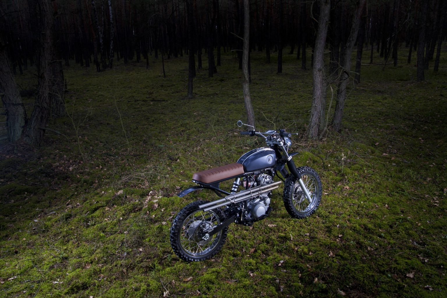 "Yamaha XT600 ""BS ONE"" by Krystian and Janusz Bednarek"